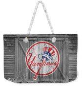 New York Yankees Weekender Tote Bag