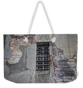 Vintage Jail Window Weekender Tote Bag