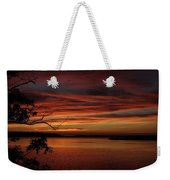 Outer Banks Sunset Weekender Tote Bag