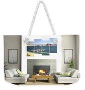 4-panel - Lake Powell Marina Weekender Tote Bag
