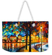 Park By The River Weekender Tote Bag