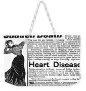 Patent Medicine, C1890 Weekender Tote Bag