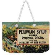 Patent Medicine Weekender Tote Bag