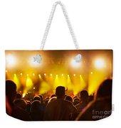 People On Music Concert Weekender Tote Bag