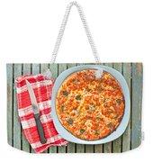 Pizza Weekender Tote Bag