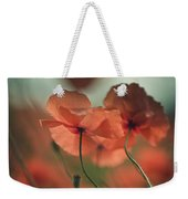 Poppy Meadow Weekender Tote Bag