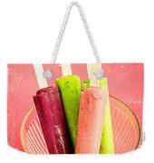 Popsicles Ice Cream Frozen Treat Weekender Tote Bag