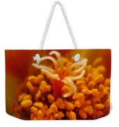 Portulaca In Orange Fading To Yellow Weekender Tote Bag