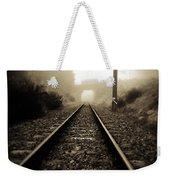 Railway Tracks Weekender Tote Bag