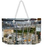 Reflections In Mikrolimano Port Weekender Tote Bag