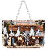 Ring Tailed Lemurs Weekender Tote Bag
