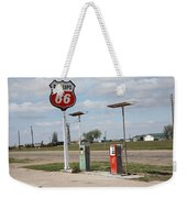 Route 66 - Adrian Texas Weekender Tote Bag
