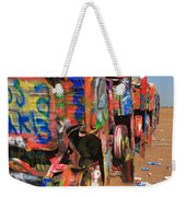 Route 66 - Cadillac Ranch Weekender Tote Bag