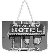 Route 66 - Cowboy Motel Weekender Tote Bag