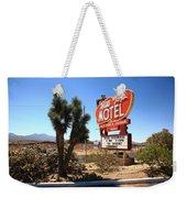 Route 66 - Hill Top Motel Weekender Tote Bag