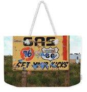 Route 66 - Jack Rabbit Trading Post Weekender Tote Bag