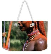 Samburu Warrior Weekender Tote Bag