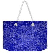 San Jose Street Map - San Jose Costa Rica Road Map Art On Colore Weekender Tote Bag