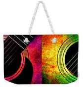 4 Seasons Guitars Panorama Weekender Tote Bag by Andee Design