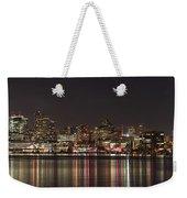Seattle Skyline On Lake Union Weekender Tote Bag