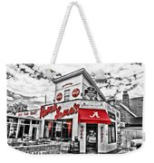 Shadow Of The Stadium - Hdr Selective Color Weekender Tote Bag