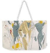 Sketches And Fabric Swatches Weekender Tote Bag