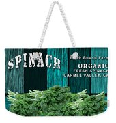 Spinach Patch Weekender Tote Bag