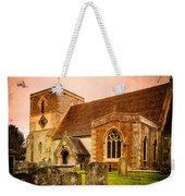 St Marys Church Kintbury Weekender Tote Bag