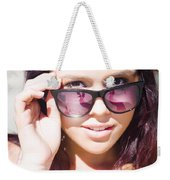 Summer Fashion Weekender Tote Bag