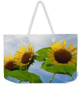 Sunflower Weekender Tote Bag