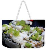Sushi California Roll Weekender Tote Bag