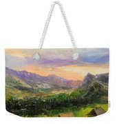 Tatry Mountains- Poland Weekender Tote Bag