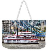 The Dixie Queen Paddle Steamer Weekender Tote Bag