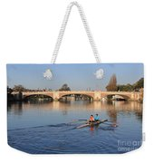 The River Thames At Hampton Court London Weekender Tote Bag