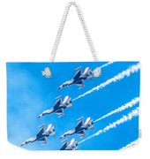 Thunderbirds And Blue Sky  Weekender Tote Bag