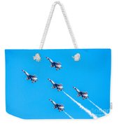 Thunderbirds In Formation  Weekender Tote Bag