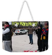 Tibetan Protest March Weekender Tote Bag