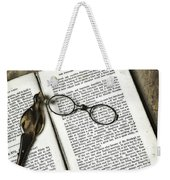 Time To Read Weekender Tote Bag