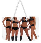 4 Times The Attitude Weekender Tote Bag