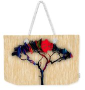 Tree Wall Art Weekender Tote Bag