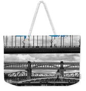 Tyne Bridge Weekender Tote Bag
