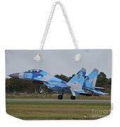 Ukrainian Air Force Su-27 Flanker Weekender Tote Bag