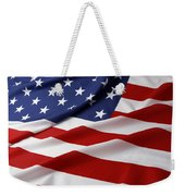 Usa Flag Weekender Tote Bag by Les Cunliffe