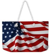 USA Weekender Tote Bag by Les Cunliffe