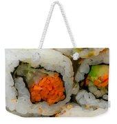 Vegetable Sushi Weekender Tote Bag