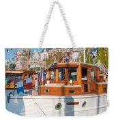 Victoria Wooden Boat Show Weekender Tote Bag