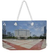 View From Peoples Park, Shanghai Weekender Tote Bag