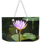 Pond Of Water Lily Weekender Tote Bag