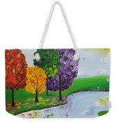 Where There Is Quiet Weekender Tote Bag