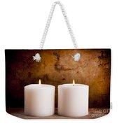 White Candles Weekender Tote Bag